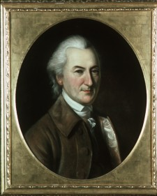 John Dickinson, by Charles Willson Peale, from life, 1782-83. Used by permission of Independence National Historic Park.