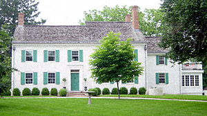 The birth home of Joseph Hewes, in what is now Princeton, New Jersey.  Photo taken by John Vinci.
