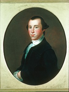 Thomas Heward Junior by Charles Willson Peale, after Jeremiah Theus, c. 1825-1850.  Used by permission of Independence National Historic Park.