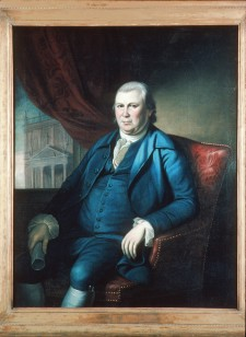 Robert Morris by Charles Willson Peale, from life, c. 1782.  Used by permission of Independence National Historic Park.